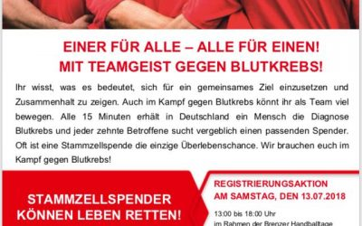 DKMS-Registrierungsaktion